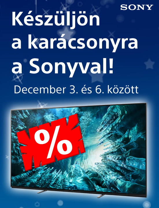 Sony adventi akció