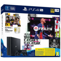 Sony PlayStation 4 PRO 1 TB + FIFA 21 + 2db DualShock 4 kontroller PS719835226