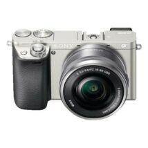 Sony ILCE-6000L Ezüst - SEL-P1650 objektívvel !