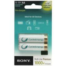 Sony NH-AA-B2K - Ni-MH akkumulátor AA 2000 mAh