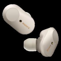 Sony WF-1000XM3 vezeték nélküli, zajszűrő fülhallgató - Ezüst