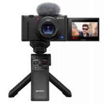 Sony ZV-1 vlog kamera kit - GP-VPT2BT állvánnyal !