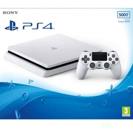 Sony PlayStation 4 Slim Glacier White 500GB PS719755517