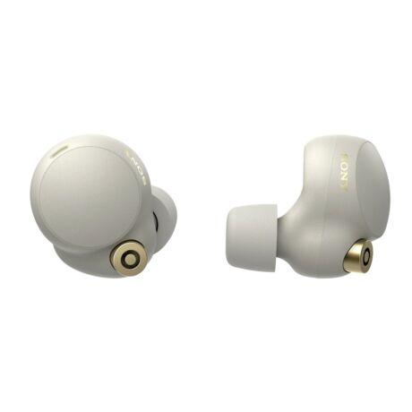 Sony WF-1000XM4 vezeték nélküli, zajszűrő fülhallgató - Ezüst