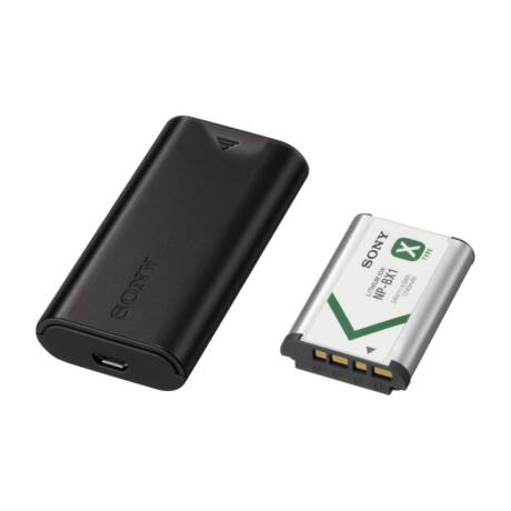 SONY  ACC-TRDCX USB-s útitöltő- és akkumulátorkészlet